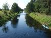 17 widok z mostu na ostatni uregulowany odcinek kanału