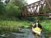 43 zabytkowy most kolejowy na nieczynnej linii Wolsztyn - Nowa Sól