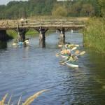 Obrzyca  - most drewniany w Chwalimiu