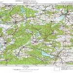 mapa Obrzyca Lubiatów