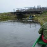 ostatni most na kanale przed ujściem do Obrzycy
